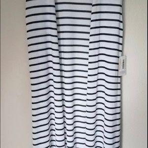 Lularoe Black and White Striped Joy